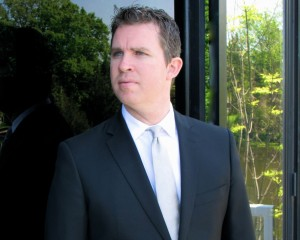 Dan Carey at the office